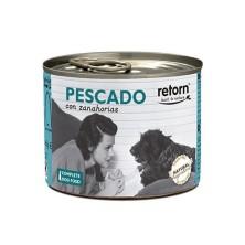 Retorn Lata Perro Pescado con Zanahoria 185 gr