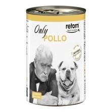 Retorn Lata Perro Only Pollo 400 gr