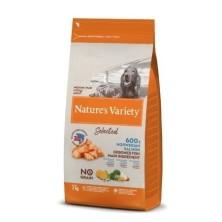 Nature´s Variety Selected No Grain Medium/ Maxi Salmón 2 Kg