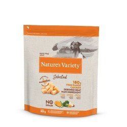 Nature´s Variety Selected No Grain Mini Fresh Chicken 600 Gr