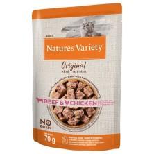 Nature´s Variety Original Paté Gato Buey y Pollo 70 gr