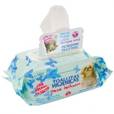Paquete 100 Toallitas Higiénicas Perro