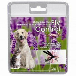 Collar Antiparasitario Natural Fly Control Lavanda 60 Cm