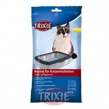 10 Bolsas para bandeja higiénica gatos,hasta 46x59cm