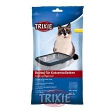 10 Bolsas para bandeja higiénica gatos,hasta 56x71cm
