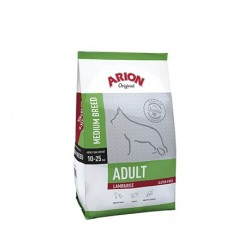 Arion Original Adult Medium Cordero y Arroz 12 Kg + Snack Regalo