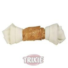 2 Denta Fun Huesos Anudados Pollo, 11 cm