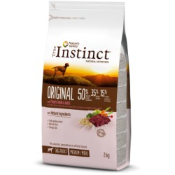 True Instinct Original Adult Medium-Maxi Pollo 2 Kg