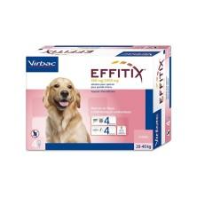 Effitix 4 Pipetas perros 20-40 Kg