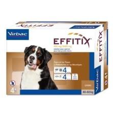Effitix 4 Pipetas perros 40-60 Kg