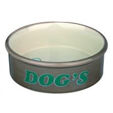 Comedero Cerám. Dog's 0.3 l, ø12 cm