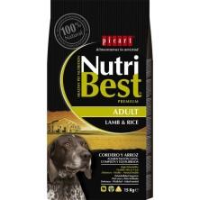 Picart Nutribest Cordero Y Arroz 15 Kg