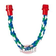 Perchas Cuerda Multicolor Algodón 37 Cm
