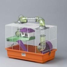 Jaula Hamster 2 pisos 50 cm