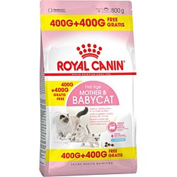 Royal Canin Mother & Babycat 400 + 400 Gr