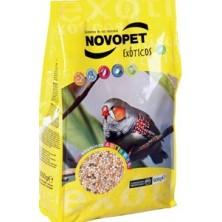 Novopet Alimento Exóticos 500 Gr