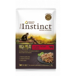 True Instinct High Meat Beef Filetes 70 Gr