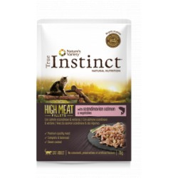 True Instinct High Meat Salmón Filetes 70 Gr