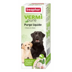 Vermi Pure Antiparasitario Interno Natural Líquido