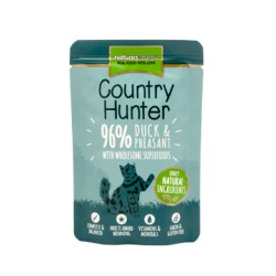 Natures Menu Country Hunter Pato y Faisán para Gato 85 Gr