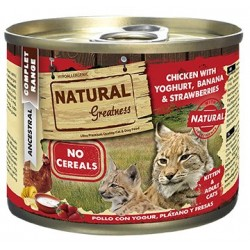 Natural Greatness Pollo con Yogurt 200 Gr