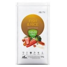 Natura Diet Fish & Rice 12 Kg