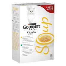 Purina Gourmet Crystal Soup Pollo 4 Sobres