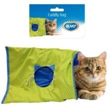 Duvo Túnel Plano para Gatos Azul
