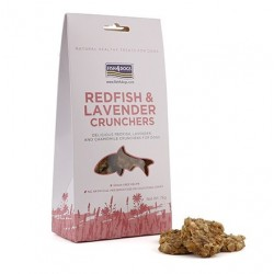 Fish4Dogs Redfish and Lavender Crunchers 75 Gr