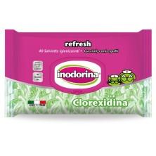 Toallitas Indorina Refresh Clorhexidina 40 unidades
