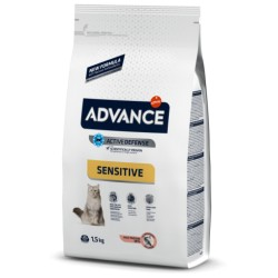 Advance Cat Adult Salmon Y Arroz Sensitive 3 Kg