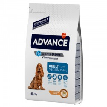 Advance Medium Adult Pollo Y Arroz 3 Kg
