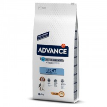 Advance Medium Light Pollo Y Arroz 12 Kg