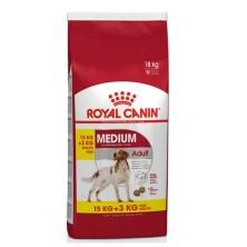 Royal Canin Medium Adult 15 + 3 Kg Gratis