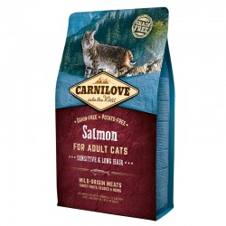 Carnilove Gato Adult Salmón Sensitive Pelo Largo 2 Kg