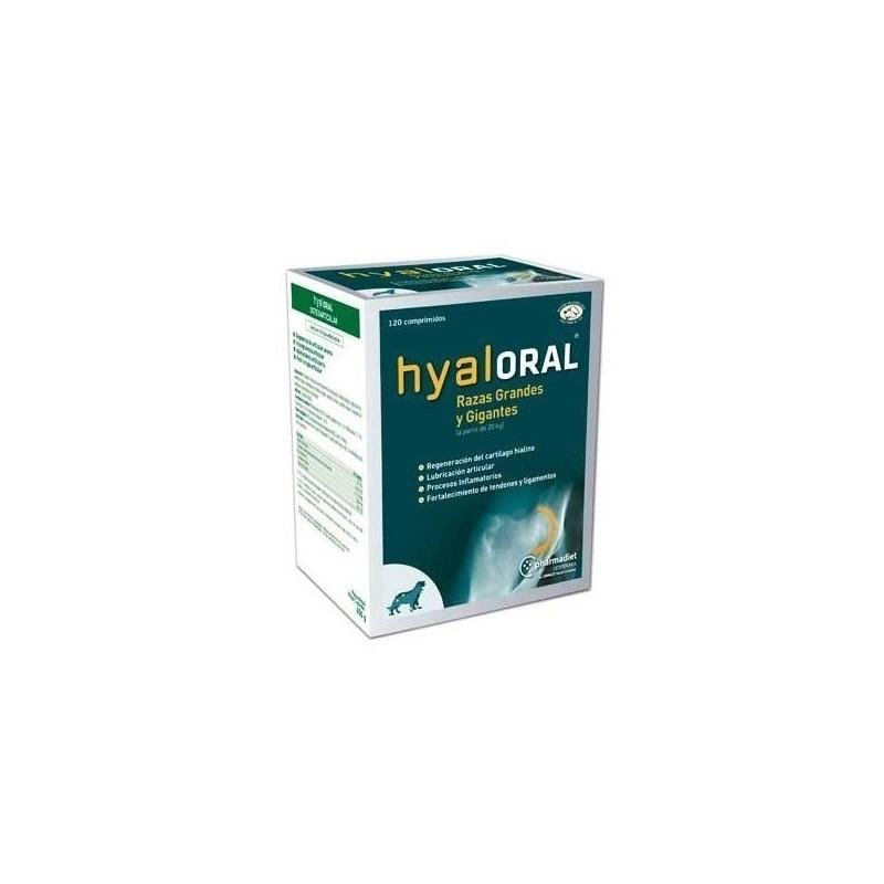 Hyaloral Condroprotector Razas Grandes y Gigantes 120 Comprimidos