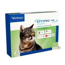 Effipro Duo Pipetas para Gatos 4 Unidades