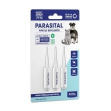 Parasital Pipetas Perros Pequeños y Gatos