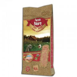 Farm Nature Puppy Junior Pavo, Pollo y Arroz 12,5 Kg