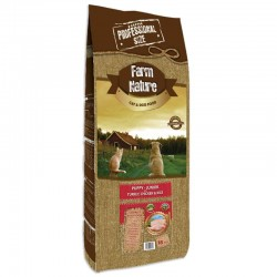 Farm Nature Puppy Junior Pavo, Pollo y Arroz 18 Kg