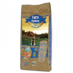 Farm Nature Adulto Salmón y Arroz 12,5 Kg