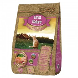 Farm Nature Cat Pollo con Manzana y Calabaza 2 Kg
