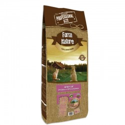 Farm Nature Cat Pollo con Manzana y Calabaza 15 Kg