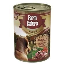 Farm Nature Jabalí con Calabacín, Tomate y Eneldo 400 g
