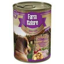 Farm Nature Conejo con Patatas, Manzana y Tomillo 400 g