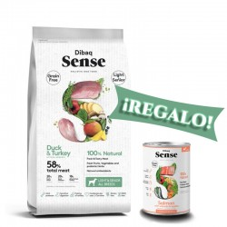 Dibaq Sense Pato y Pavo Light Senior 2 Kg