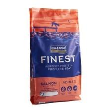 Fish4Dogs Finest Salmón Complete 12 Kg Regular Bite