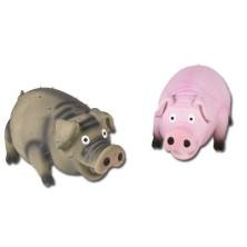 Cerdo de Látex con Sonido Real 15 Cm