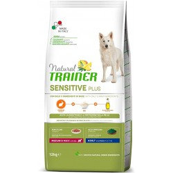 Natural Trainer Sensitive Plus M&M con Caballo 12 kg