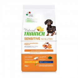 Natural Trainer Sensitive No Gluten Adult Mini con Salmón 7 Kg